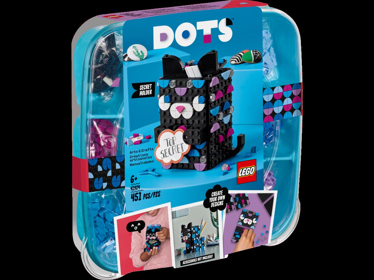 LEGO® DOTS™ 20 Geheimbox Katze