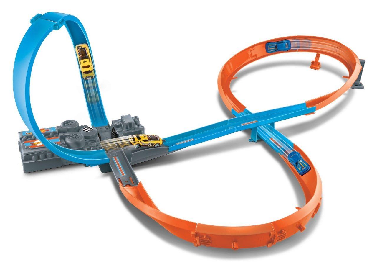 Mattel GGF92 Hot Wheels Rennstrecke 8er Kurve