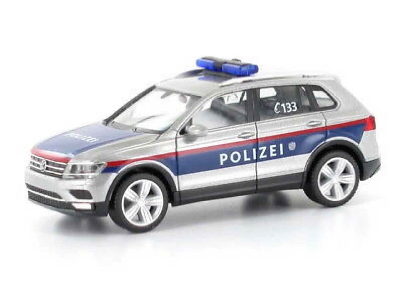 A 092883 1//87 Herpa VW T6 Bus Polizei Österreich