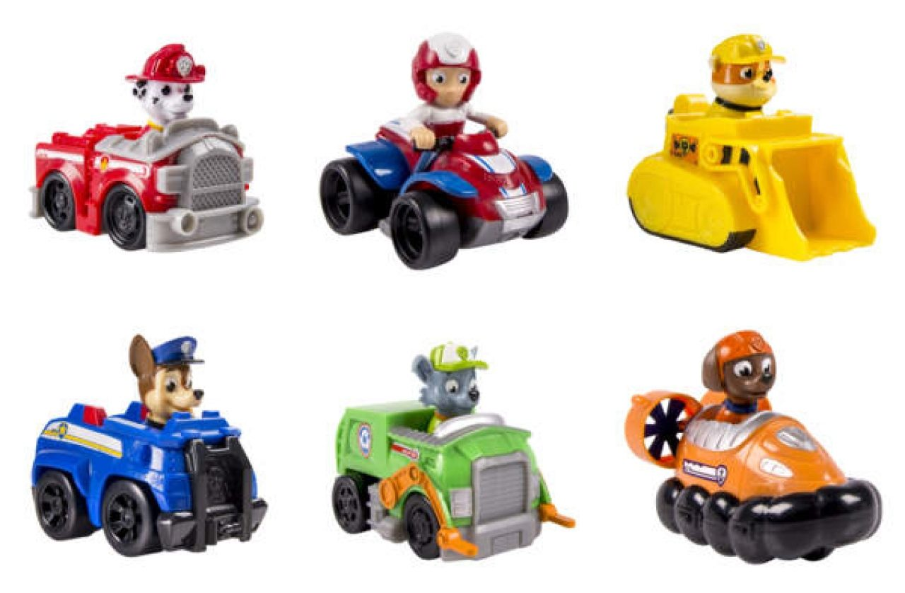 SPIN MASTER 66379 PAW PATROL PATROL Rescue Racer Sortiment