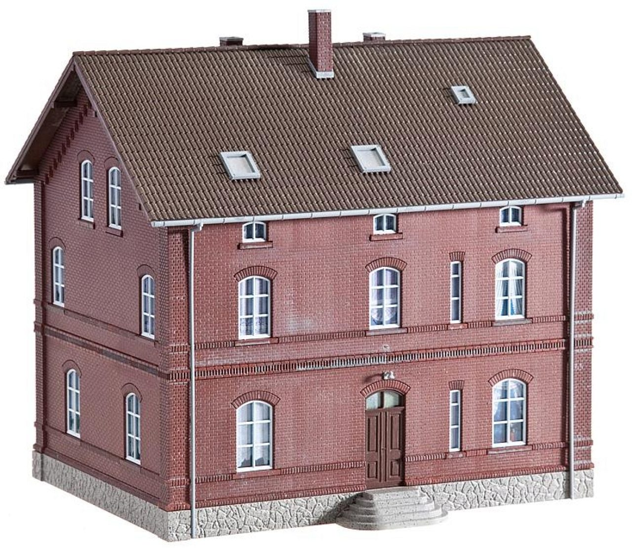 Faller 130461 H0 Arbeiter Wohnhaus Mit Hinterhofzubehor Ep