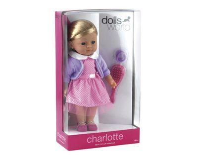idee+spiel 520-28116 dollsworld Puppe Charlotte