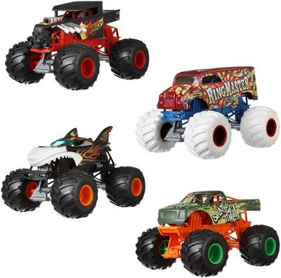 MATTEL FYJ83 Hot Wheels Monster Trucks 1:24 Die-Cast Sortiment