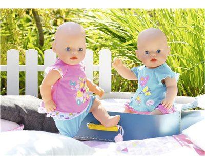 Zapf Creation 823552 BABY born® Babykleidchen Schmetterling 1 Stück Kleidung & Accessoires Puppen & Zubehör