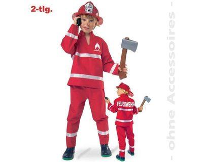 FRIES 21273 Feuerwehrmann rot, Oberteil + Hose, Größe 98